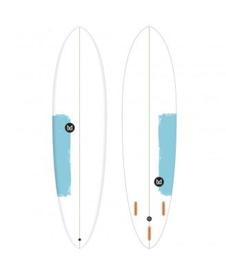 """Mahalo MOANA FUN ROUND - 7.6"""" 51.9L Surf Boards"""