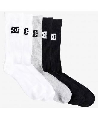 DC Shoes Mens CREW 3PK Socks