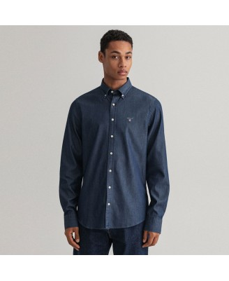 Gant Mens REGULAR INDIGO Shirt
