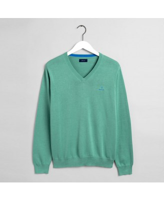 Gant Mens CLASSIC COTTON V-NECK Sweater