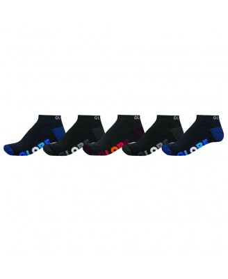 Globe MULTI STRIPE ANKLE 5PK Socks