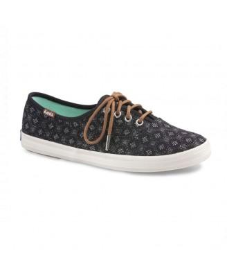Keds Women CH DIAMOND DOT BLACK   Shoes