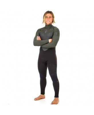 Rip Curl Mens FLASHBOMB 43GB C/ZIP STM Wetsuits