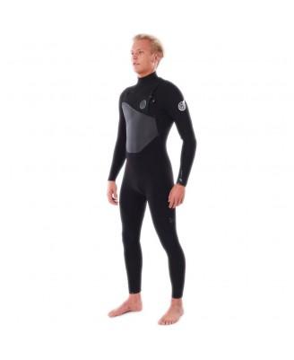 Rip Curl Mens FLASHBOMB 4/3 C/ZIP Wetsuits