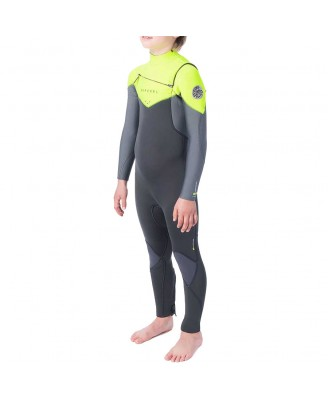 Rip Curl Kids  D/PATROL 43GB  C/Zip S SWetsuits