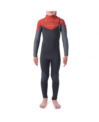 Rip Curl Kids  D/PATROL 53GB  C/Zip SWetsuits