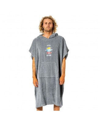 Rip Curl Mens ICONS HOODED TOWEL