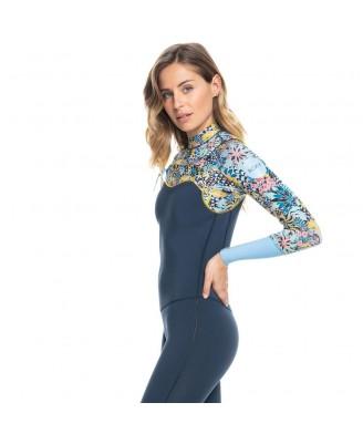 Roxy 4/3 MARINE BLOOM FZ GBS Wetsuits