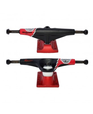 Tensor ALLOY Magnesium Light Low Primo Daewon Song Black Red - 5.5''Trucks Skate