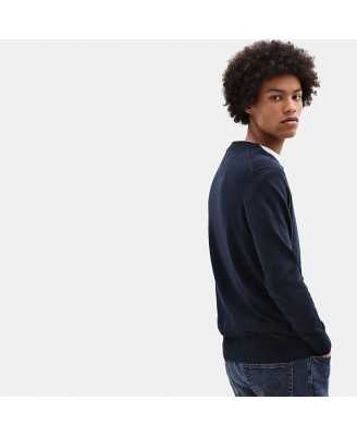 Timberland Mens WILLIAMS RIVER V  Sweater
