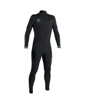 Vissla Kids SEVEN SEAS 4-3 Full Chest Zip Wetsuits