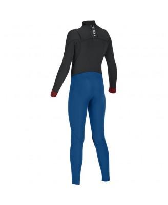 Vissla Kids SEVEN SEAS 4-3 Full Chest Zip Wetsuits